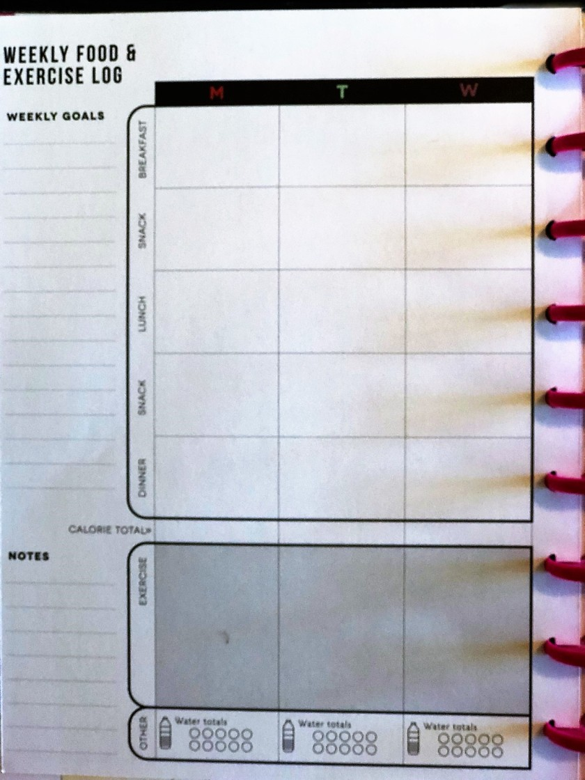 planner close up